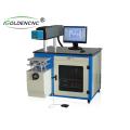 Máquina portátil da marcação do laser da fibra 30w mini para o aço carbono