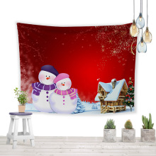 Tapiz colgante de pared con decoración de regalo de Navidad 2020