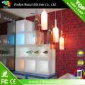 LED Wine Rack e luzes LED