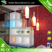 LED Wine Rack e luzes LED