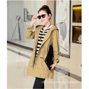 2014 Fashinable Long Coat Leisure Coat for Women