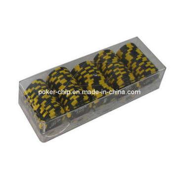 100PCS Poker Chip Set in Plastic Box (SY-S05)