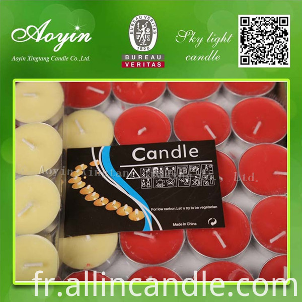 COLOR TEALIGHT CANDLE45