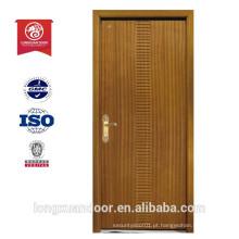 Porta de madeira com fogo de porta de fogo porta resistente a porta de incêndio