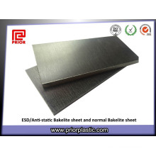 ПУР/Анти-Static материалы, черная бакелитовая лист