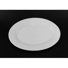 white oval ceramic plates bulk for dinner