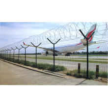 Airport fence panels for protection
