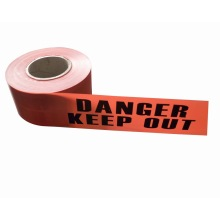 Road safety PE hazard warning tape No adhesive