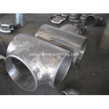 Raccords de tuyaux en acier galvanisé Té identique
