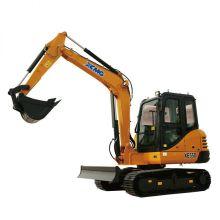 Mini excavadora sobre orugas XCMG XE55D de 5 toneladas