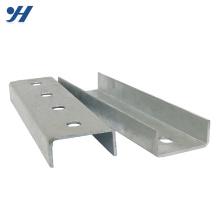Manche en U en acier inoxydable perforé par immersion à chaud de profilé en métal formé à froid