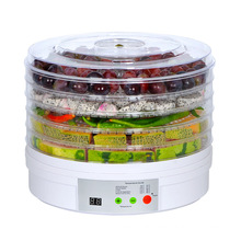 Intelligent timing food and fruit drying machine