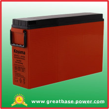 Acumuladores de gel de terminal frontal 175ah 12V / Bateria híbrida