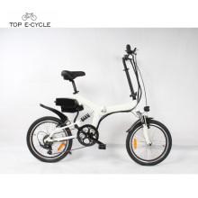 Buen precio pedelec ebike con bicicleta eléctrica plegable de la bici de las células de batería de Samsung para la venta