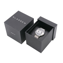 Luxury Watch Box ivory paper Cardboard Drawer Slide Gift Box with pillow