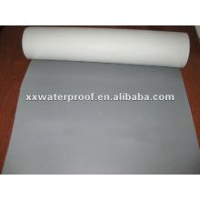 Pvc material impermeável com tecido