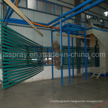 Electrostatic Aluminum Profiles Powder Painting Line
