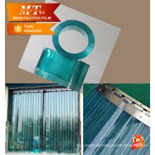 Almacén de alimentos frescos refrigeración almacenamiento pvc tira cortina
