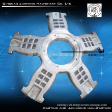Customized big size aluminum sand casting