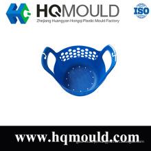 Molde de injeção macio plástico da cesta
