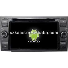 Tela sensível ao toque dual core sistema Android no painel do carro dvd player para Ford Focus com GPS / Bluetooth / TV / 3G