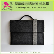 Wool Felt Bag Laptop Business Briefcase