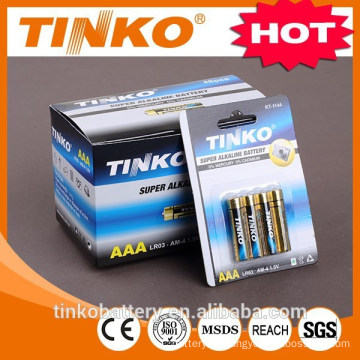 OEM welcomed LR03 Alkaline battery