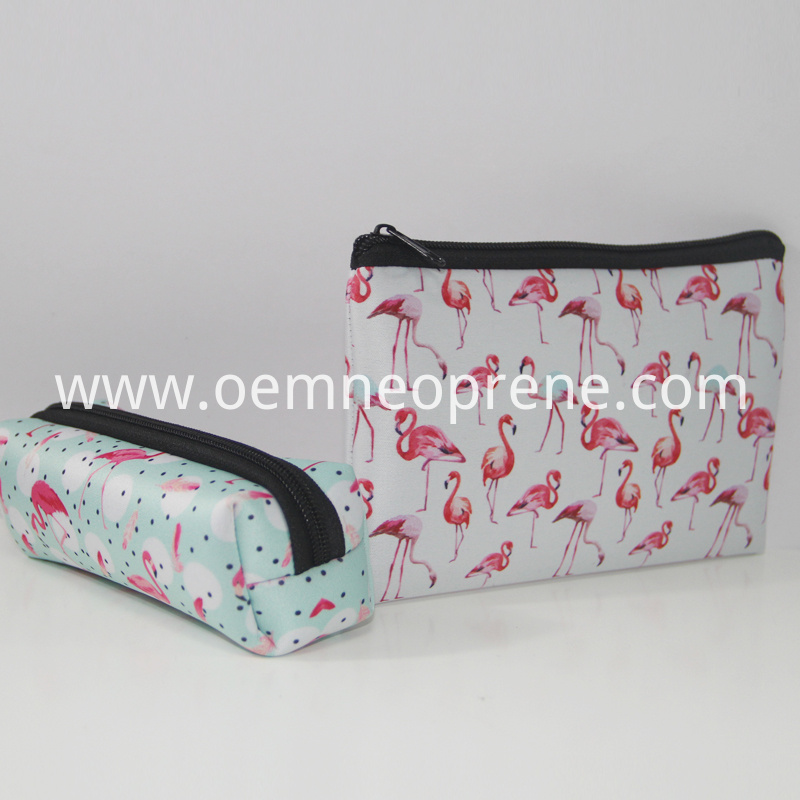 Neoprene cosmetic case