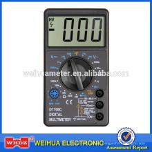 Multímetro de pantalla grande DT700C con temperatura