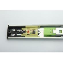 furniture hardware push to open rebound full extension drawer sliding rail