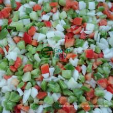 Venta caliente IQF congelado hortalizas mezcladas con ISO
