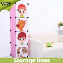 Caja de almacenamiento plástica de la sala de estar del juguete de los niños al por mayor