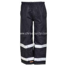 Men's Waterproof Breathable Reflective Stripe Pants