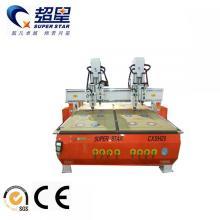 Máquina de carpintería de doble cabezal