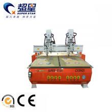 Máquina de carpintería de doble cabeza