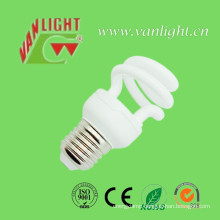 Tri-Color T2 9W-32W Half Spiral Sereis CFL Lamps Energy Saving Lamp