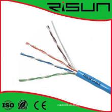 Cables de la premisa del cobre de UTP Cat5e con alta calidad probados a 350MHz