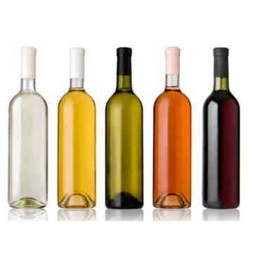 Eco-Friendly botella de vino rojo de vidrio vacío con buen precio