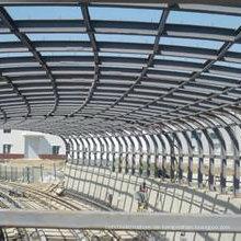 Pre Engineering Long-Span Leicht Stahl Struktur Gebäude Vorgefertigte Stahl Strukturelle ...