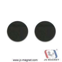 Мягкие черные магниты на ферритовом диске
