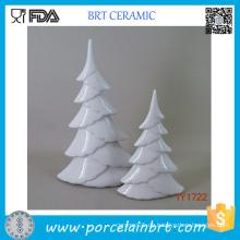 Heiße keramische weiße Weihnachtsbaum-Weihnachtsdekoration