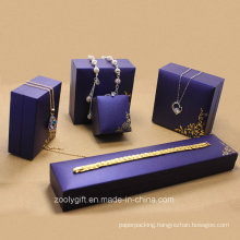 Royal Purple Special Paper Jewelry Boxes Set