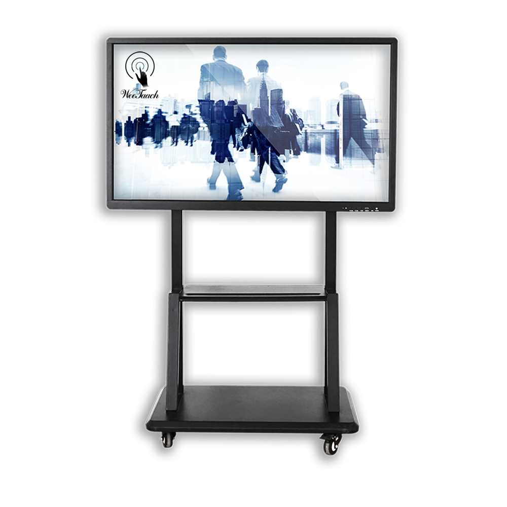 55 inches smart panel with mobile stand