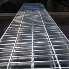 Caillebotis en barres d'acier soudées galvanisées