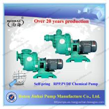 Bomba química de plástico para la industria química.