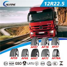 Sem câmara de ar caminhão e ônibus pneus TBR pneumático (12R 22.5)