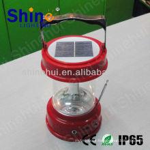 Plastic ABS/Transparent PC low price led lantern camping solar led candle lantern