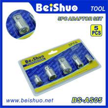 5PC 1/2 '' & 3/8 '& 1/4' '& 3/4' '' Buchse Adapter Set