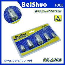 5PC 1/2′′&3/8′&1/4′′&3/4′′ ′socket Adaptor Set