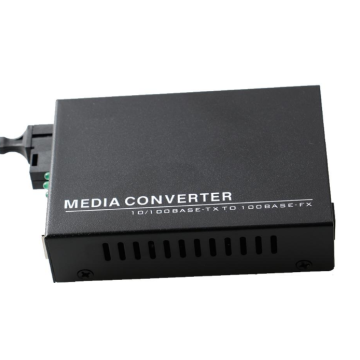 Fiber To Rj45 Ethernet Gigabit Media Konverter Mode Tunggal